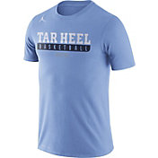 Jordan Men's North Carolina Tar Heels Carolina Blue ELITE Basketball Practice Legend T-Shirt