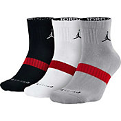 Jordan Dri-FIT High Quarter Socks 3 Pack