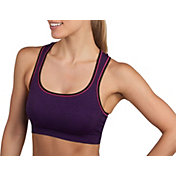 Jockey Women's Mélange Pop Push Up Seam Free Sports Bra