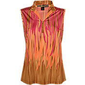 Jaime Sadock Women's Fringe Sleeveless Polo