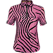 Jaime Sadock Tiger Fish Crinkle Short Sleeve Polo
