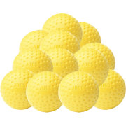 Jugs Sting-Free Dimpled Yellow Baseballs - 12 Pack
