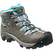 KEEN Women's Detroit Mid Steel Toe Work Boots