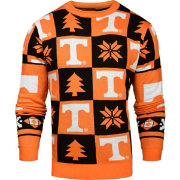Klew Men's Tennessee Volunteers Tennessee Orange Ugly Sweater