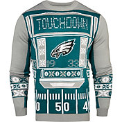 KLEW Men's Philadelphia Eagles Light Up Ugly Sweater