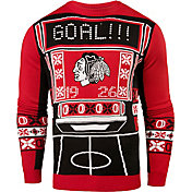 Klew Men's Chicago Blackhawks Light-Up Ugly Sweater