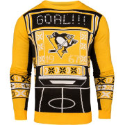 Klew Men's Pittsburgh Penguins Light-Up Ugly Sweater