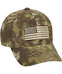 Kryptek Men's American Flag Hat
