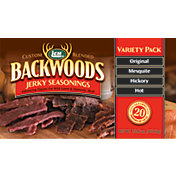 LEM Custom-Blended Backwoods Jerky Seasoning Variety Pack