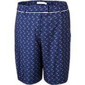 Lady Hagen Women's Ocean Club Umbrella Print Bermuda Golf Shorts