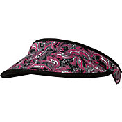 Lady Hagen Women's Paris Collection Paisley Print Golf Visor