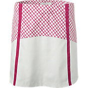 Lady Hagen Women's Sunset Collection Windowpane Block Golf Skort
