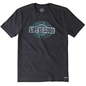 Life is Good Men's Watercolor Do What You Love Crusher T-Shirt