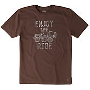 Life is Good Men's Enjoy the Ride Crusher T-Shirt