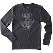 Life is Good Men's Enjoy the Ride Crusher Long Sleeve T-Shirt