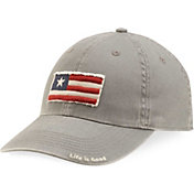 Life is Good Men's Tattered Three Stripe Flag Chill Hat