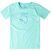 Life is Good Women's Go Places Bike Crusher T-Shirt