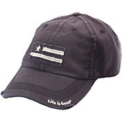Life is Good Women's Tattered Flag Sunwashed Chill Hat
