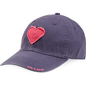 Life is Good Women's Tattered Heart Chill Hat