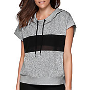 Lorna Jane Women's Cabana Cropped Short Sleeve Hoodie
