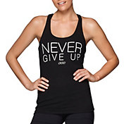 Lorna Jane Women's Never Give Up Graphic Tank Top