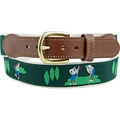 Leather Man Golf Course Golf Belt