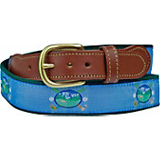 Leather Man Oval Golf Belt