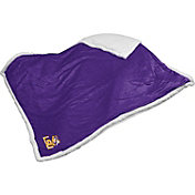 LSU Tigers Sherpa Throw