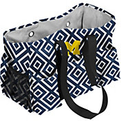 Michigan Wolverines Double-Diamond Junior Caddy Tote