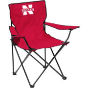 Nebraska Cornhuskers Team-Colored Canvas Chair