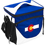Logo State of Colorado Flag 24 Can Cooler Bag