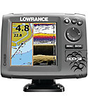 Lowrance HOOK-5 Mid/High/Downscan Chartplotter/Fish Finder