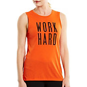 lucy Women's Work Hard Graphic Tank Top