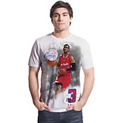 Levelwear Men's Los Angeles Clippers Chris Paul Highlight White T-Shirt