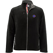 Levelwear Men's Boise State Broncos Black Alpine Full-Zip Jacket