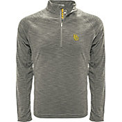 Levelwear Men's Baylor Bears Grey Mobility Long Sleeve Quarter-Zip Shirt