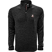 Levelwear Men's Florida State Seminoles Grey Armour Quarter-Zip Shirt