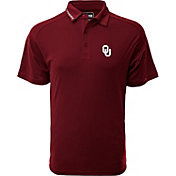 Levelwear Men's Oklahoma Sooners Crimson Tactical Polo