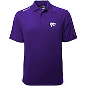 Levelwear Men's Kansas State Wildcats Purple Helium Polo