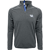 Levelwear Men's Kentucky Wildcats Grey Metro Quarter-Zip