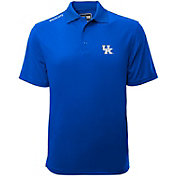 Levelwear Men's Kentucky Wildcats Blue Helium Polo