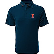 Levelwear Men's Illinois Fighting Illini Blue Tactical Polo