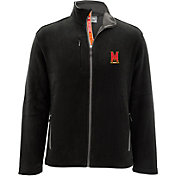 Levelwear Men's Maryland Terrapins Black Alpine Full-Zip Jacket