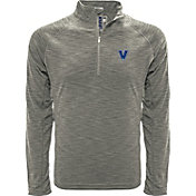 Levelwear Men's Virginia Commonwealth Rams Grey Mobility Long Sleeve Quarter-Zip Shirt