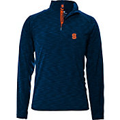 Levelwear Men's Syracuse Orange Blue Mobility Quarter-Zip