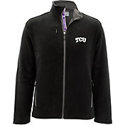 Levelwear Men's TCU Horned Frogs Black Alpine Full-Zip Jacket