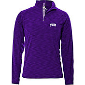 Levelwear Men's TCU Horned Frogs Purple Mobility Quarter-Zip