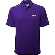 Levelwear Men's TCU Horned Frogs Purple Helium Polo