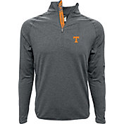 Levelwear Men's Tennessee Volunteers Grey Metro Quarter-Zip