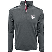 Levelwear Men's Texas A&M Aggies Grey Metro Quarter-Zip
